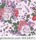 Rose and lavender 36538351