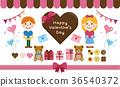 vector, vectors, valentines day 36540372