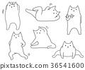vector, vectors, line drawing 36541600