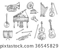 music, instrument, musical 36545829