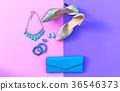 Fashion woman accessories set 36546373