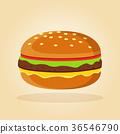 burger vector flat 36546790