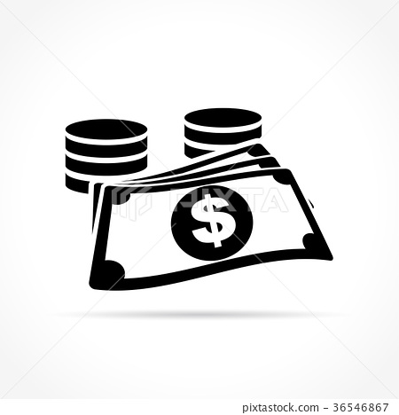 money icon on white background 36546867
