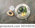 Black caviar on ice 36549038
