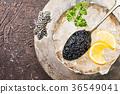 Black caviar on ice 36549041