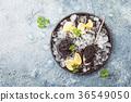 Black caviar on ice 36549050