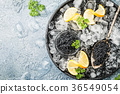 Black caviar on ice 36549054