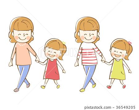 父母和小孩 親子 人 36549205