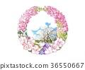 Flower Circle, December, Stock 36550667