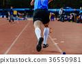 long jump run-up 36550981