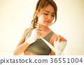 bandage, boxing, combative sport 36551004