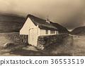 Small village church in Saksun, Faroe Islands 36553519