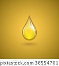 Drop of oil 36554701