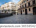 Famous fountain of shame on baroque PiazzaPretoria 36556542