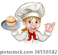 baker,woman,chef 36556582