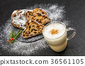 슈 톨렌 독일 유명한 빵 (Stollen) Germany of pound cake 36561105