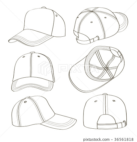 Baseball cap set 36561818