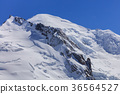 Mont Blanc massif in the French Alps 36564527