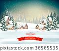 holiday, christmas, village 36565535