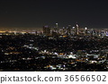 Night view of Los Angeles 36566502