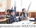 小學生 小學 教室 36567258