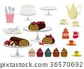 巧克力蛋糕 紙杯蛋糕 甜點 36570692