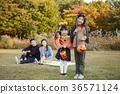 아빠,엄마,아들,딸,가족,공원 36571124