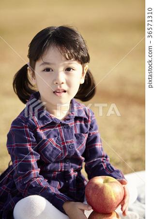 소녀,어린이,공원 36571310