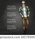 Vector man model 36576999