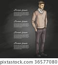 clothing fashion illustration 36577080
