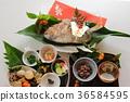 断奶仪式 节日表 日本食品 36584595