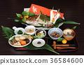 断奶仪式 节日表 日本食品 36584600