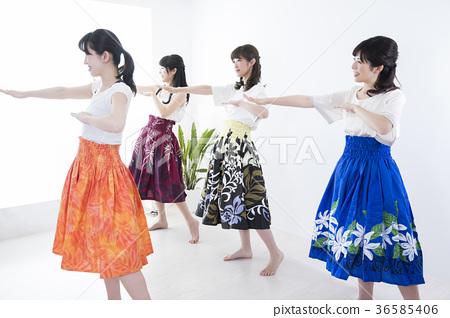 훌라 춤 교실 36585406