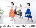 草裙舞课堂 36585408