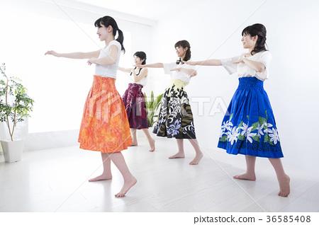 훌라 춤 교실 36585408