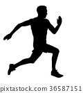 runner, marathon, jogging 36587151