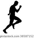 runner, marathon, athlete 36587152
