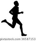 runner, marathon, jogging 36587153