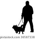dog man black 36587338