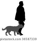 dog, man, male 36587339