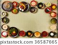 일본식 스위트 다양한 traditional Japanese Sweet taste desert 36587665