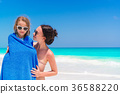 beach, child, female 36588220