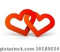 心 红色 红 36589034