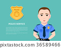 Police service concept 36589466