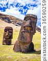 摩艾石像 拉诺拉拉库 石像 36590259