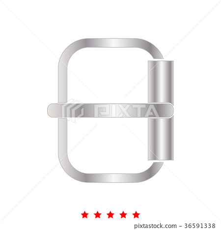 Buckle  icon . Different color . 36591338