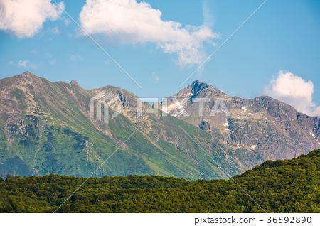 romania mountain ridge at sunrise 36592890