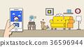 Mobile-payment help us live a convenient life. 003 36596944