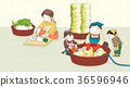 kimjang, kimchi-making for the winter 003 36596946
