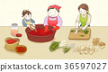 kimjang, kimchi-making for the winter 010 36597027
